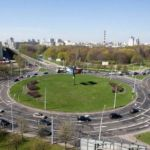 Единые правила проезда перекрестков с круговым движением