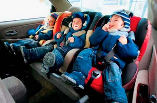 Правила перевозки детей в авто 2017 год
